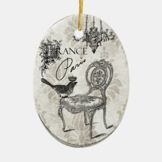 Vintage French chair ornament