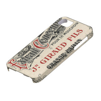 Vintage French Chic Fancy Perfume iPhone 5 Cover