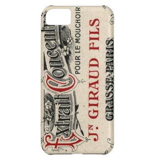 Vintage French Chic Fancy Perfume iPhone 5C Covers