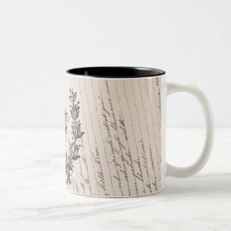 Vintage French Chic Honey Bee Mugs