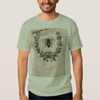 Vintage French Chic Honey Bee T-Shirt