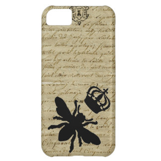 Vintage French Chic Queen Bee Cover For iPhone 5C