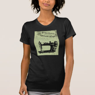 Vintage French Chic Sewing machine T-Shirt