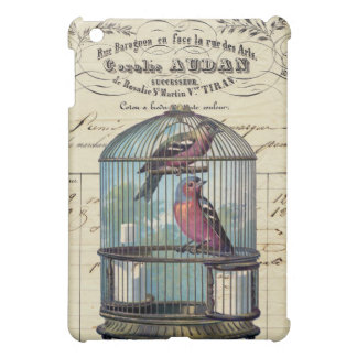 Vintage French Chic Victorian Birdcage Love Birds Cover For The iPad Mini