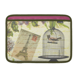 Vintage French Chic Victorian Birdcage MacBook Sleeve