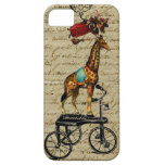 Vintage French Chic Whimsical bewitched Giraffe iPhone 5 Cases
