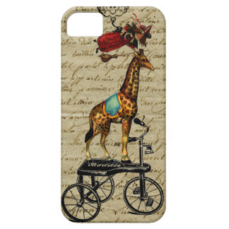 Vintage French Chic Whimsical bewitched Giraffe iPhone SE/5/5s Case