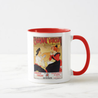 Vintage French chocolate advertising Mug