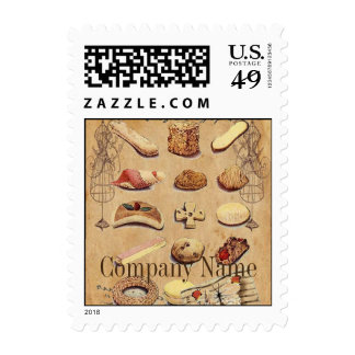 vintage french chocolate pastry cookies bakery stamps