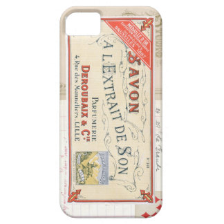 Vintage French Collage iPhone 5 Case
