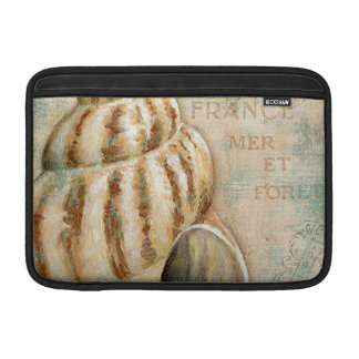 Vintage French Conch Shell MacBook Sleeve
