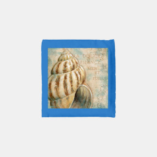Vintage French Conch Shell Reusable Bag