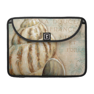 Vintage French Conch Shell Sleeve For MacBooks