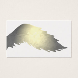 Vintage French Country English Angel Wings Light Business Card