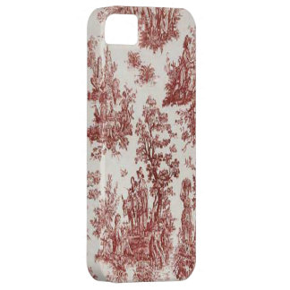 Vintage French Country Red Toile iPhone 5 Cover
