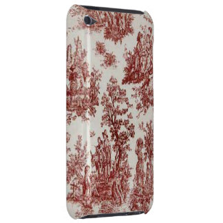 Vintage French Country Red Toile iPod Touch Case-Mate iPod Touch Case