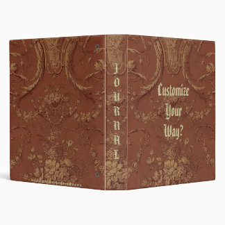 Vintage French Country Rustic Album, Notebook??? Vinyl Binder