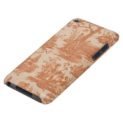 Vintage French Country Toile Case-Mate iPod Touch Barely There iPod Case