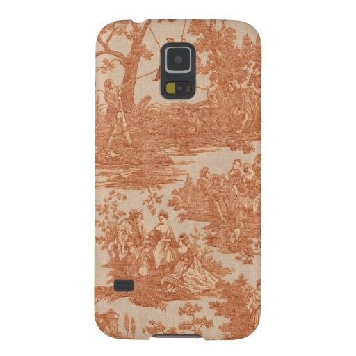 Vintage French Country Toile Samsung Galaxy Nexus Galaxy S5 Cover