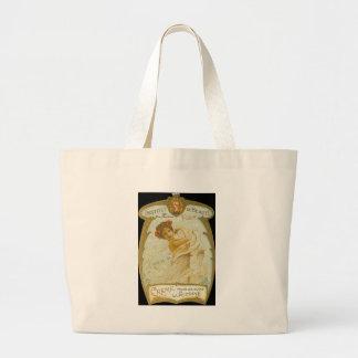 Vintage French Creme Ad - Tote Bag