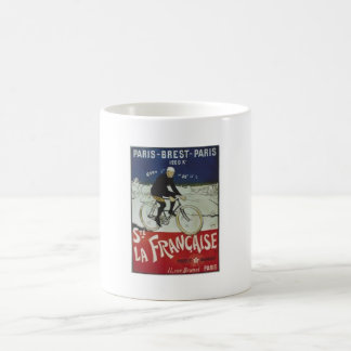 VINTAGE FRENCH CYCLIST POSTER - MUGS