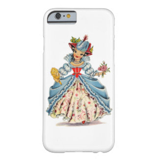 Vintage French Doll Barely There iPhone 6 Case