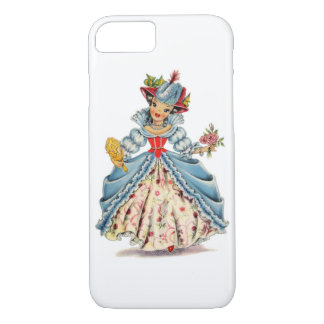 Vintage French Doll iPhone 8/7 Case