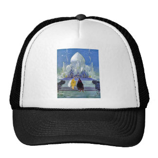 Vintage French Fantasy Fairy Tale Art Painting Trucker Hat