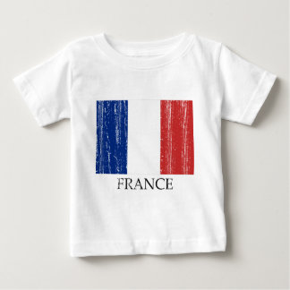 Vintage French Flag Baby T-Shirt