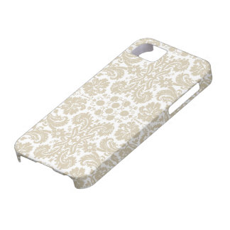 Vintage french floral art nouveau pattern iPhone 5 covers