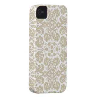 Vintage french floral art nouveau pattern iPhone 4 covers