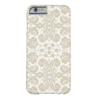 Vintage french floral art nouveau pattern barely there iPhone 6 case