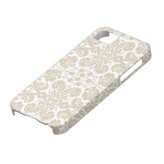 Vintage french floral art nouveau pattern iPhone SE/5/5s case