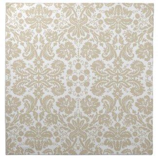 Vintage french floral art nouveau pattern mojo_napkin