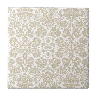 Vintage french floral art nouveau pattern tiles