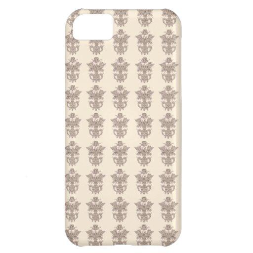 Vintage french floral art nouveau petit point iPhone 5C covers