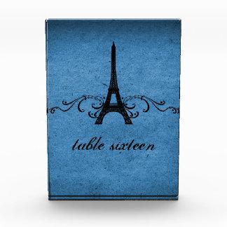 Vintage French Flourish Sweet 16 Table Number Acrylic Award
