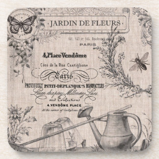 Vintage French Garden coasters