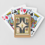 Vintage French Illustration Bicycle Poker Cards