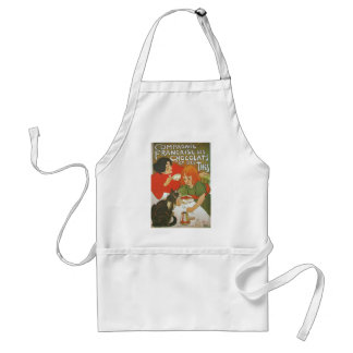 Vintage French illustration by Theophile Steinlen Adult Apron
