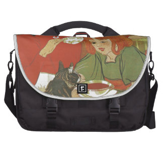 Vintage French illustration by Theophile Steinlen Computer Bag