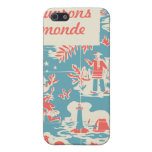 Vintage French Kids Book Cover Case For iPhone 5