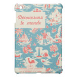 Vintage French Kids Book Cover iPad Mini Cover