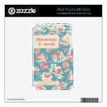 Vintage French Kids Book Cover Decals For iPod Touch 4G