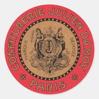 Vintage French Label