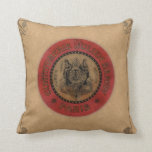Vintage French Label Pillow