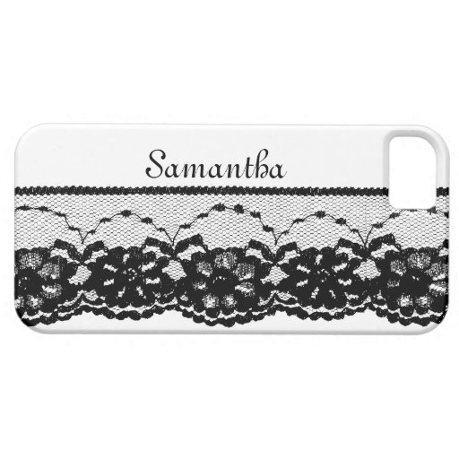 Vintage French Lace iPhone 5 Barely There Case iPhone 5 Covers
