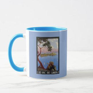 Vintage (French) Lake Garda Italian travel Mug