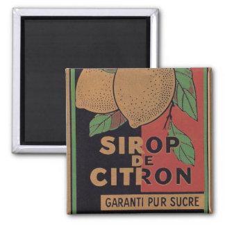 Vintage French Lemon Magnet