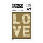 VINTAGE FRENCH LOVE ♥ STAMP